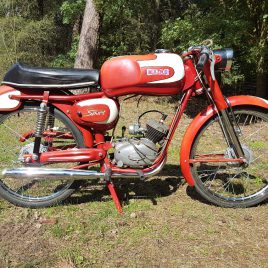 Maino Super Sport 1960s, a very rare motorcycle